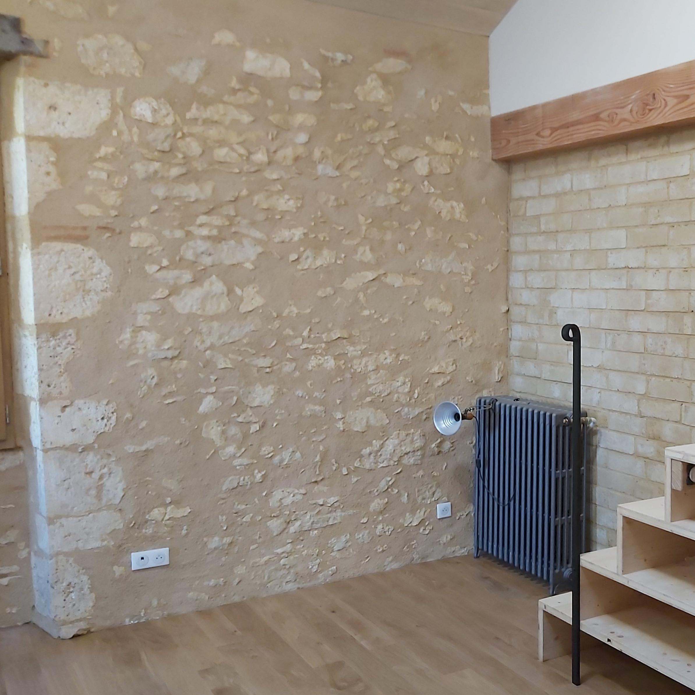 Écoconstruction Ger -Restauration du bâti ancien gers - enduits intérieurs terre et chaux - enduits extérieus - maçonnerie traditionnelle Gers - ArcillaRossello