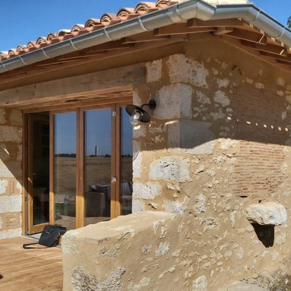 Restauration bâti ancien Gers - Arcilla-Rossello