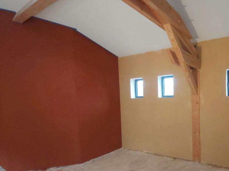 Restauration du bâti ancien gers - enduits intérieurs terre et chaux - enduits extérieus - maçonnerie traditionnelle Gers - ArcillaRossello