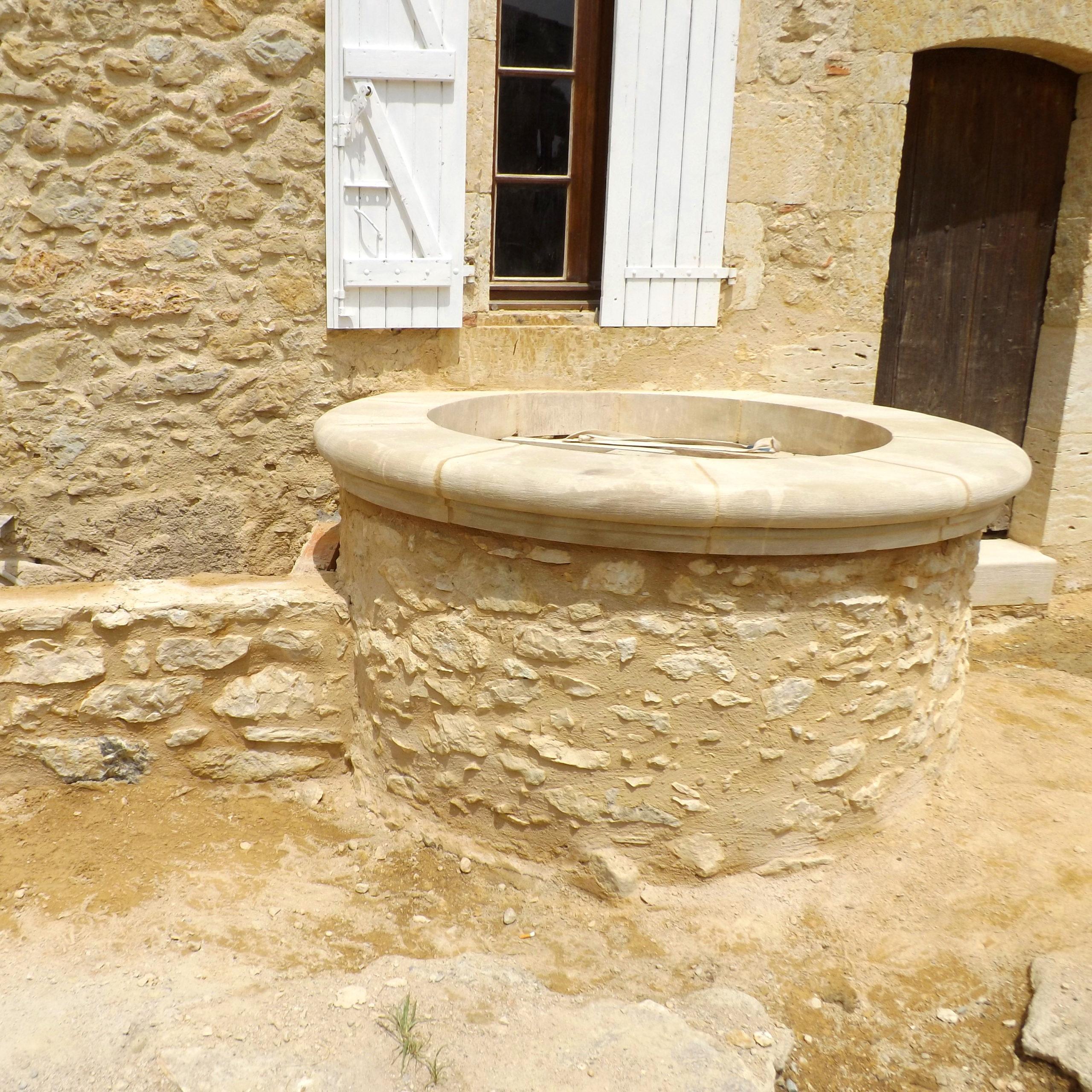 Maçonnerie pierre traditionelle gers sud ouest - restauration du bâti ancien - éco-construction - Arcilla Rossello